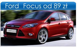 Wypożyczalnia Gdańsk Ford Focus III PROMOCJA